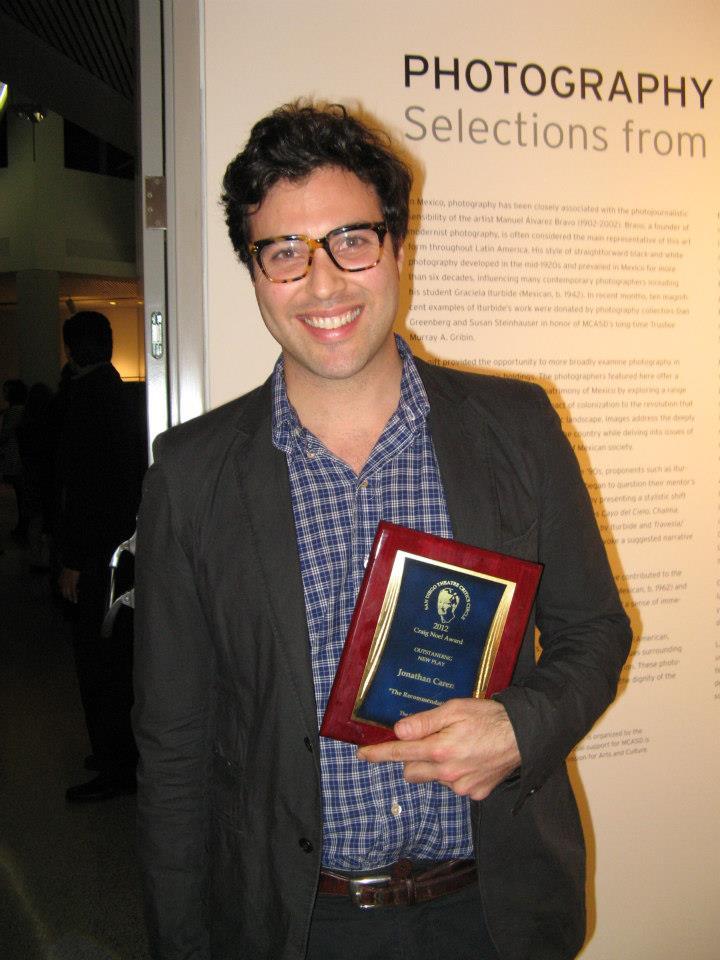 Craig Noel Award - Jonathan Caren