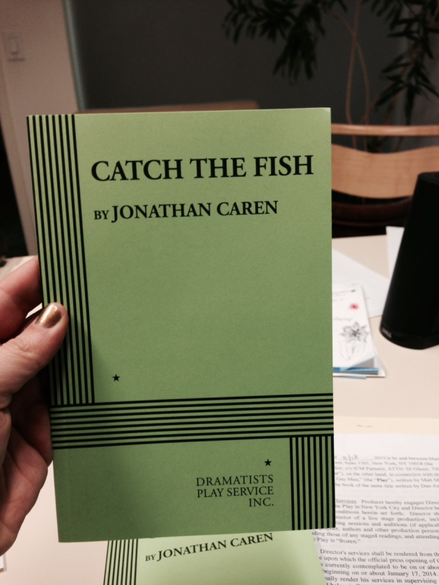 The Recommendation and Catch The Fish - Available from Dramatist Play Scripts